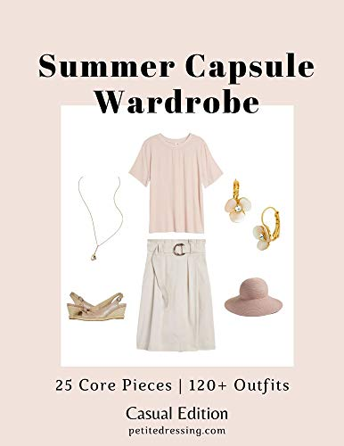Summer Capsule Wardrobe: 120 chic everyday outfits from 25 pieces (English Edition)