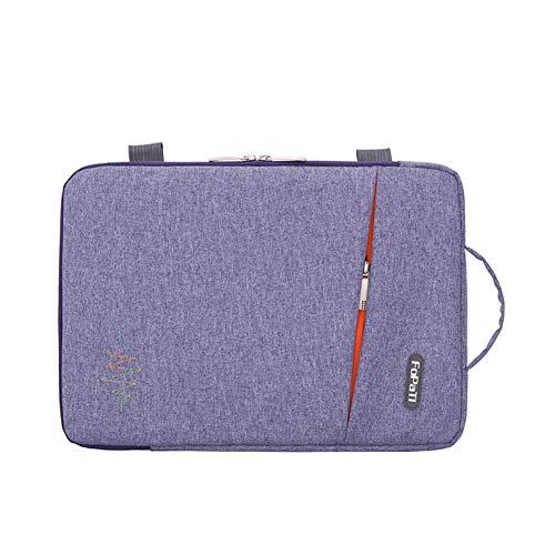 GUOCU Funda Portátil, Maletín de Bolsa Impermeable, Sleeve Compatible con Macbook Air/Pro, MacBook Pro de 13 '', 12.3 Surface Pro, Surface Laptop,Azul,14