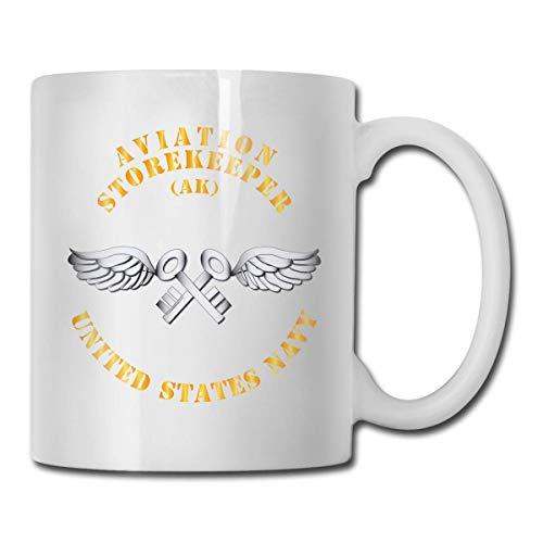 Navy rate lotniczy sklep zabawny prezent kubek biały herbata kubki do warzenia herbaty 325 ml