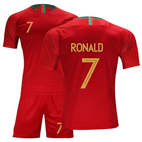 Portugal 7 Ronald 8 9 Moutinho Silva Camisetas de fútbol para los Partidos en casa, de los Hijos Adultos de Encargo del fútbol Jerseys, Camisetas y Pantalones Cortos red7-22