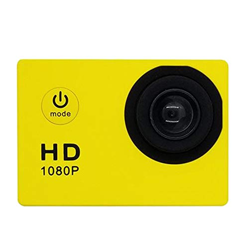 balikha SJ4000 HD 1080P Videocámara Sports DV Action Camera Cámara de Video Impermeable - Amarillo