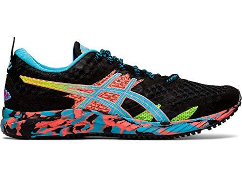 ASICS Women's Gel-Noosa Tri 12 Running Shoes, 8.5M, Black/Aquarium