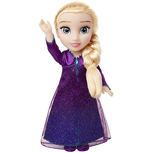 Disney Frozen 2 Elsa Musical Doll Sings Into the Unknown - Features 14 Film Phrases - Dress Lights Up - Ages 3+, 14 In
