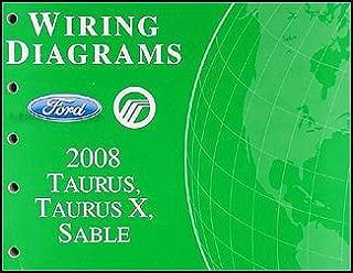 2008 Ford Taurus, Taurus X, Sable Wiring Diagrams Manual Original