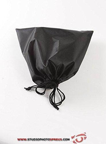 Compactor Set de 2 fundas de zapatos óptimo viaje, Color negro, Fabricado en poliestireno, Tamaño 35 x 35 cm, RAN5354
