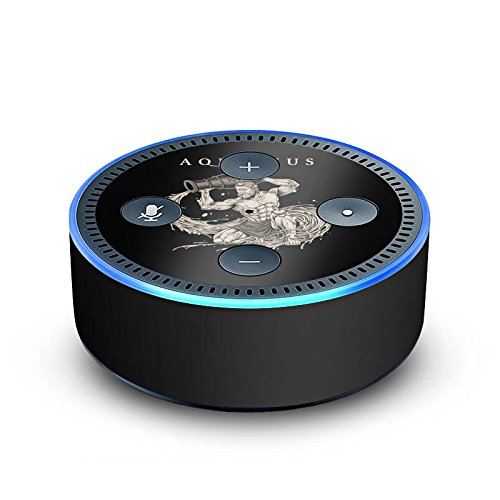 DeinDesign Amazon Echo Dot 2.Generation Folie Skin Sticker aus Vinyl-Folie Wassermann Sternzeichen Astrologie