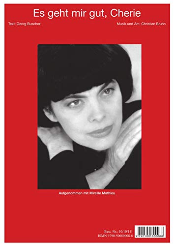 Es geht mir gut, Chéri: as performed by Mireille Mathieu, Single Songbook