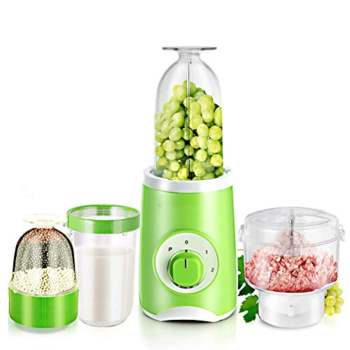 Hefacy Premium Blender blender, ice crusher with automatic cleaning function, 4 cups 3 cutting heads, free for fruit and vegetable juicer Baibao