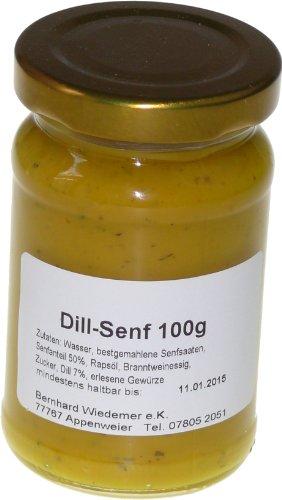 Wiedemer Gourmet Dill Senf 100g