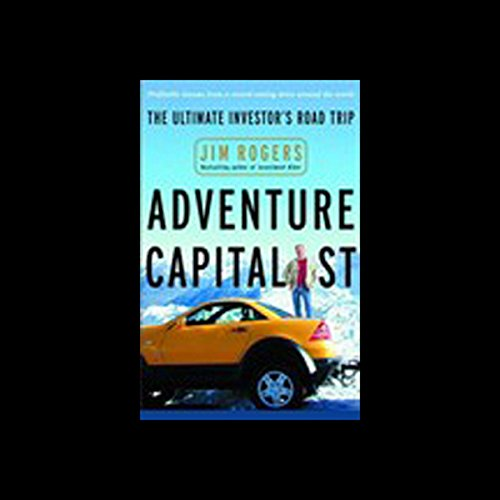 Adventure Capitalist audiobook cover art