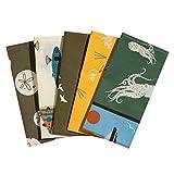 Taschentücher aus Stoff, waschbare, wiederverwendbare Öko Stoff-Taschentücher aus Bio-Baumwolle,...