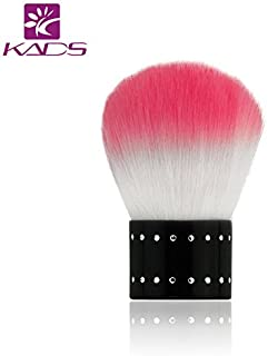 KADS Soft Nail Dust Brush Manicure Tool Cosmetic Brush For Nail Art For Powder Nail Dust Cleaner Brush Foundation Brush for Makeup and Nail Art