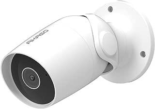 AKASO Cámara de Seguridad Exterior HD1080P IP WiFi Impermeable Compatible con Alexa Google Home Fire TV Audio Bidireccional Detección de Movimiento Visión Nocturna Almacenamiento en Tarjeta/Cloud