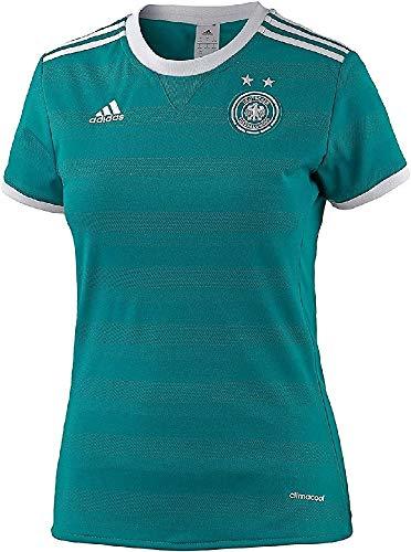 adidas Damen DFB Deutschland Away Trikot, EQT Green, L
