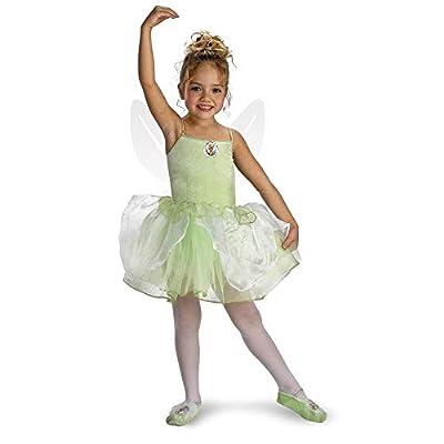 Girls Tinker Bell Ballerina(4 To 6-As Shown)