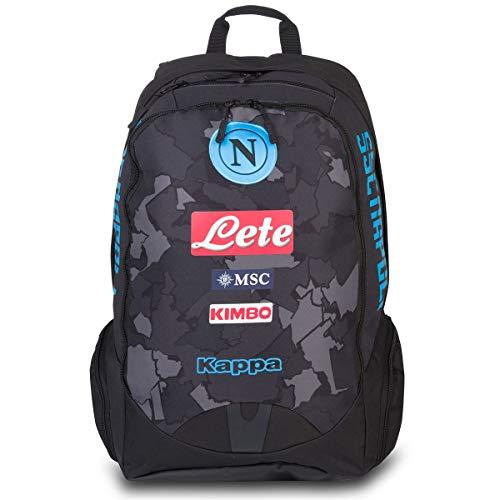 SSC Napoli Tuta Felpa Neonato Aperta con Zip E Cappuccio N90690-N90666-N90691