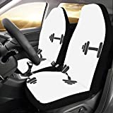 Yushg Fitness Hantel Übung Benutzerdefinierte Neue Universal Fit Auto Drive Autositzbezüge...