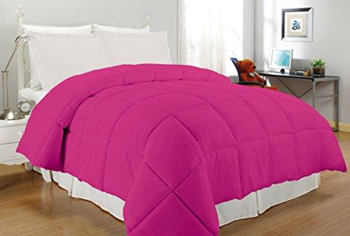 South Bay Microfiber Down Alternative Comforter (Twin, Fuchsia)
