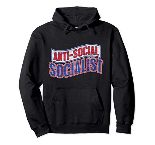 Club antisocial socialista antisocial introvertido Sudadera con Capucha