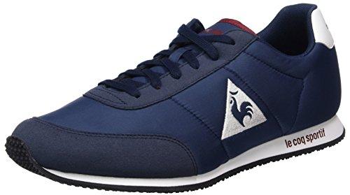 Le Coq Sportif Racerone - Sneakers Basses Mixte Adulte - Bleu (Dress Blue/Rouge Ruby Wine) - 43 EU