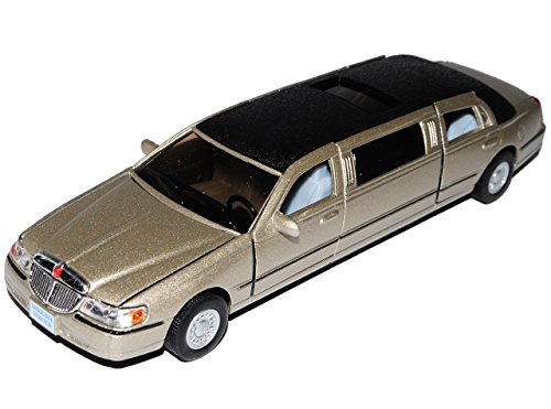 Unbekannt Lincoln Town Car Stretch Limousine Beige ca 1/43 1/36-1/46 Modellcarsonline Modell Auto