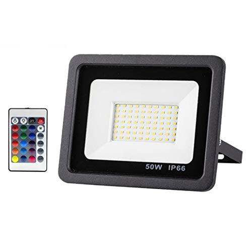 Reflector LED de luz de Seguridad llevó el Reflector al Aire Libre 50w Impermeable de la iluminación para Las Luces del jardín Patio Delantero del Garaje Patio Pared Decorativos