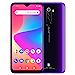 "BLU G90 Pro – 6.5"" HD+ Gaming Smartphone, Quad Camera, 128GB+4GB RAM – Purple Haze (Renewed)"