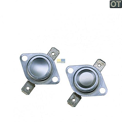 Indesit, Ariston, Hotpoint Temperaturbegrenzer, Thermostat 2 Stück für Kondenstrockner, Trockner - Nr.: C00095566