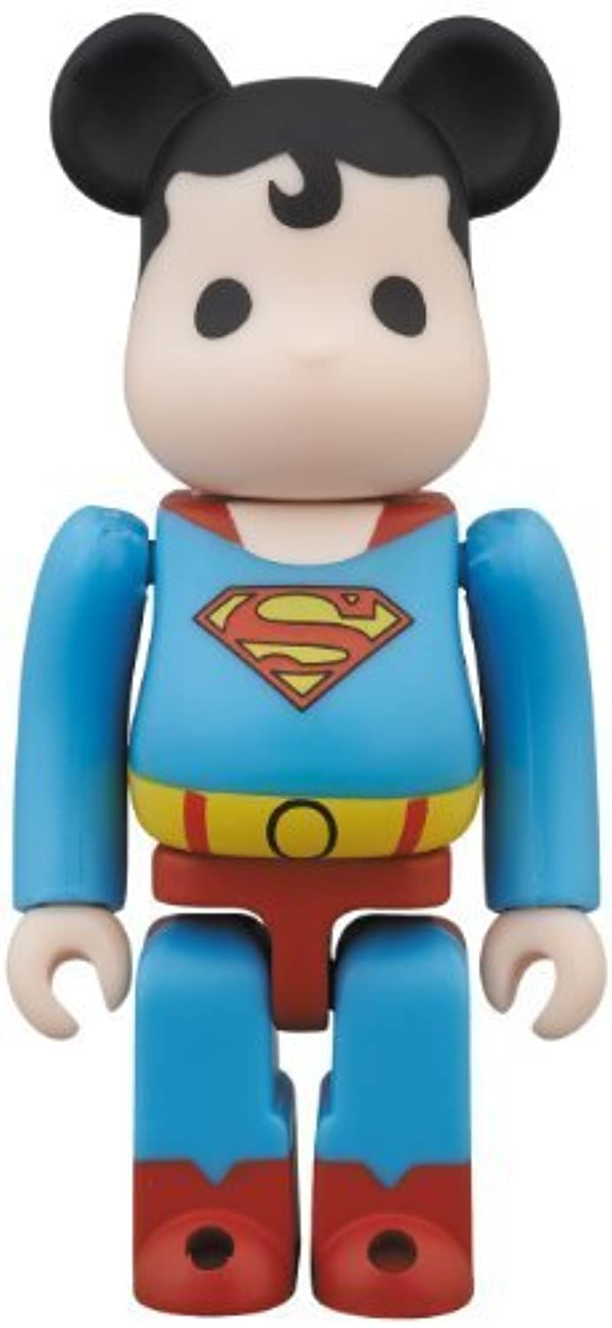 Medicom San Diego Comic-Con 2013 DC Super Powers Superman Bearbrick Action Figure by Medicom TOY (English Manual)