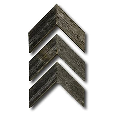 Barnwood Rustic Chevron Decorative Arrow Set of 3 Made by Barnwood Decor of OKC