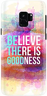Stylizedd Samsung Galaxy S9 Slim Snap Case Cover Matte Finish - Be The Good - Multi Color