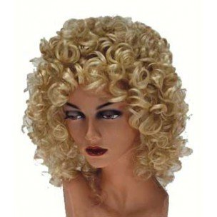 PARTYLINE Perruque Small curl Blonde