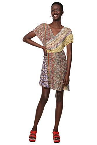 Desigual CLANZIE jurken Vrouwen Multicolor Korte jurken