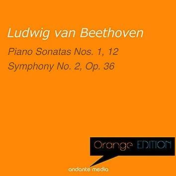 Orange Edition - Beethoven: Piano Sonatas Nos. 1 & 12 - Symphony No. 2, Op. 36