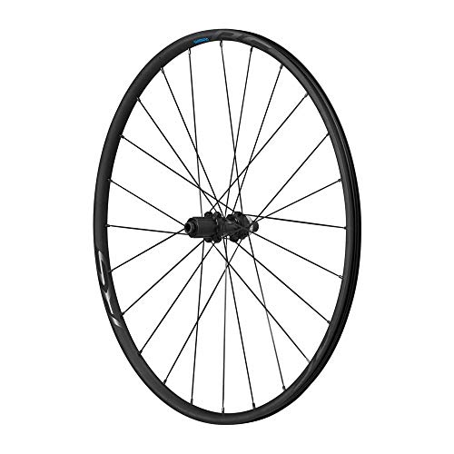 SHIMANO WHRS370R12 Piezas de Bicicleta, Unisex Adulto, estándar, Rear 700C-Clincher