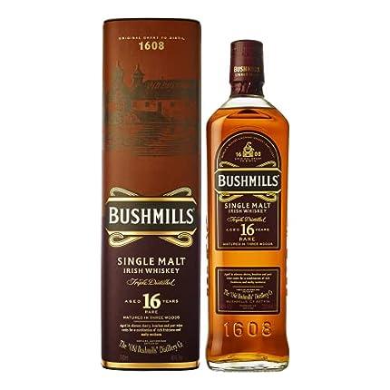 Old Bushmills - Single Malt Irish - 16 year old Whisky