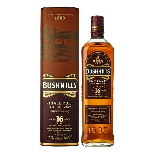 Bushmills Bushmills Malt 16Y Irish Whiskey 40%,Whiskey Irland 16 Jahre Whisky (1 x 0.7 l)