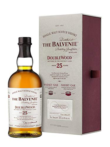 Balvenie DoubleWood 25 Year Old 70 Cl 25th Anniversary Limited Edition