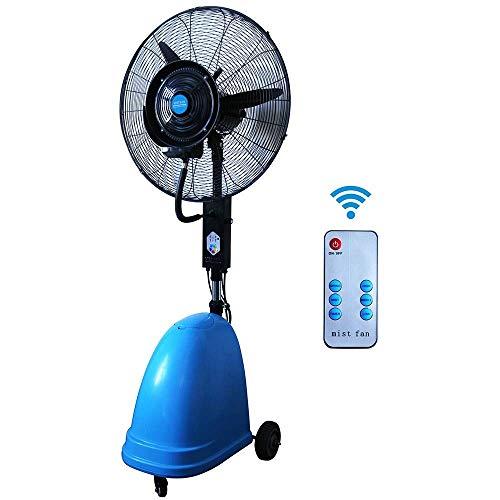 """ventilador de pulverización Industrial de 26"""", humidificador con atomización de Polvo, 3 Ajustables con Fuerte Viento, 260W"""