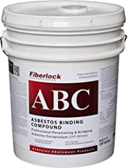 ASBESTOS SEALER: Asbestos sealant is used for encapsulating fireproofing and insulation material. Ensures long lasting barrier over lead paint. Apply ABC full strength as a bridging encapsulant. CLASS A FIRE RATED: Our ABC encapsulant is class A fire...
