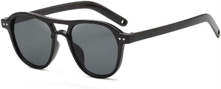 acool Children's Sunglasses, Retro Sunglasses, UV Protection for Boys and Girls Sunglasses (Black All Gray)
