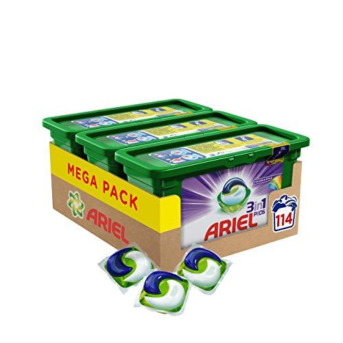 Ariel 3in1 PODS Colorwaschmittel, 114 Waschladungen (3 x 38 Waschladungen)