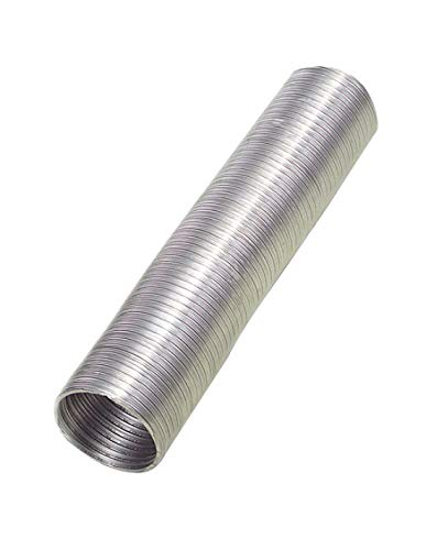 WOLFPACK LINEA PROFESIONAL 2560005 Tubo Aluminio Compacto Gris 150mm 5 m, 150 mm