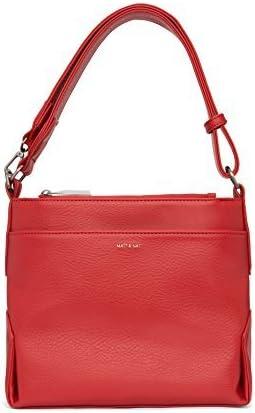 Matt & Nat Jorja Small Dwell Handbag, Ruby