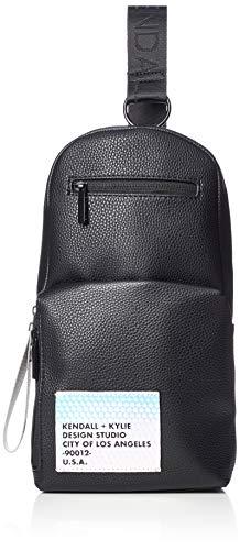 Kendall + Kylie Damen Kiki-Black Sling-Bag, schwarz, Einheitsgröße