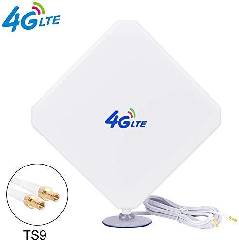 pas cher un bon Antenne 35dBi 3G / 4G LTE à gain élevé avec double amplificateur de signal 4G LTE TS9…