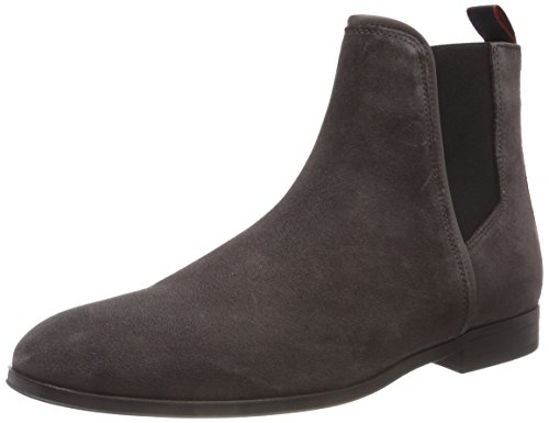 HUGO Herren Boheme_Cheb_sd Chelsea Boots, Grau (Dark Grey 021), 45 EU