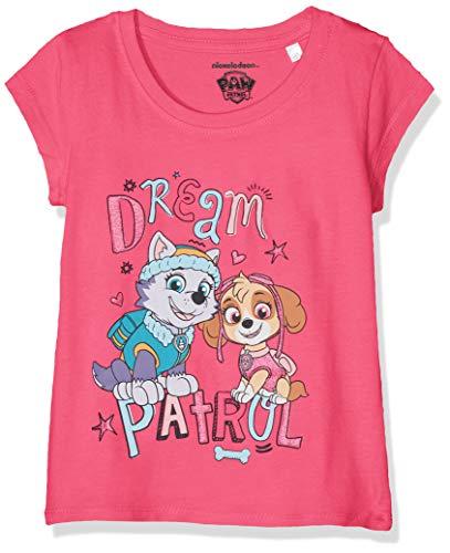 Pat patrouille Mädchen T-Shirt 6277 Rose Fushia, 4 Jahre