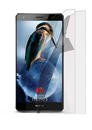 2X Huawei Mate S | Schutzfolie Matt Display Schutz [Anti-Reflex] Screen Protector Fingerprint Handy-Folie Matte Displayschutz-Folie für Huawei Mate S Displayfolie