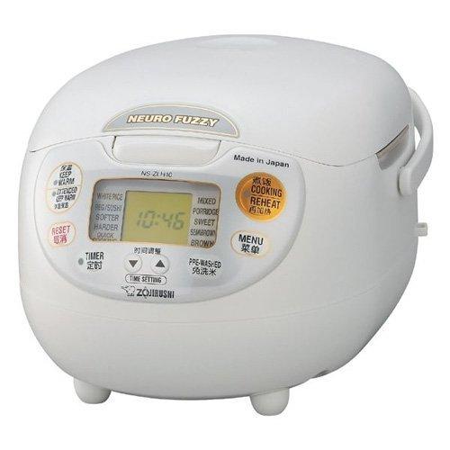 Zojirushi Außerhalb von Japan (5gou kochen) Microcomputer Reiskocher NS-ZLH10-WZ (Für lokale AC220-230V)